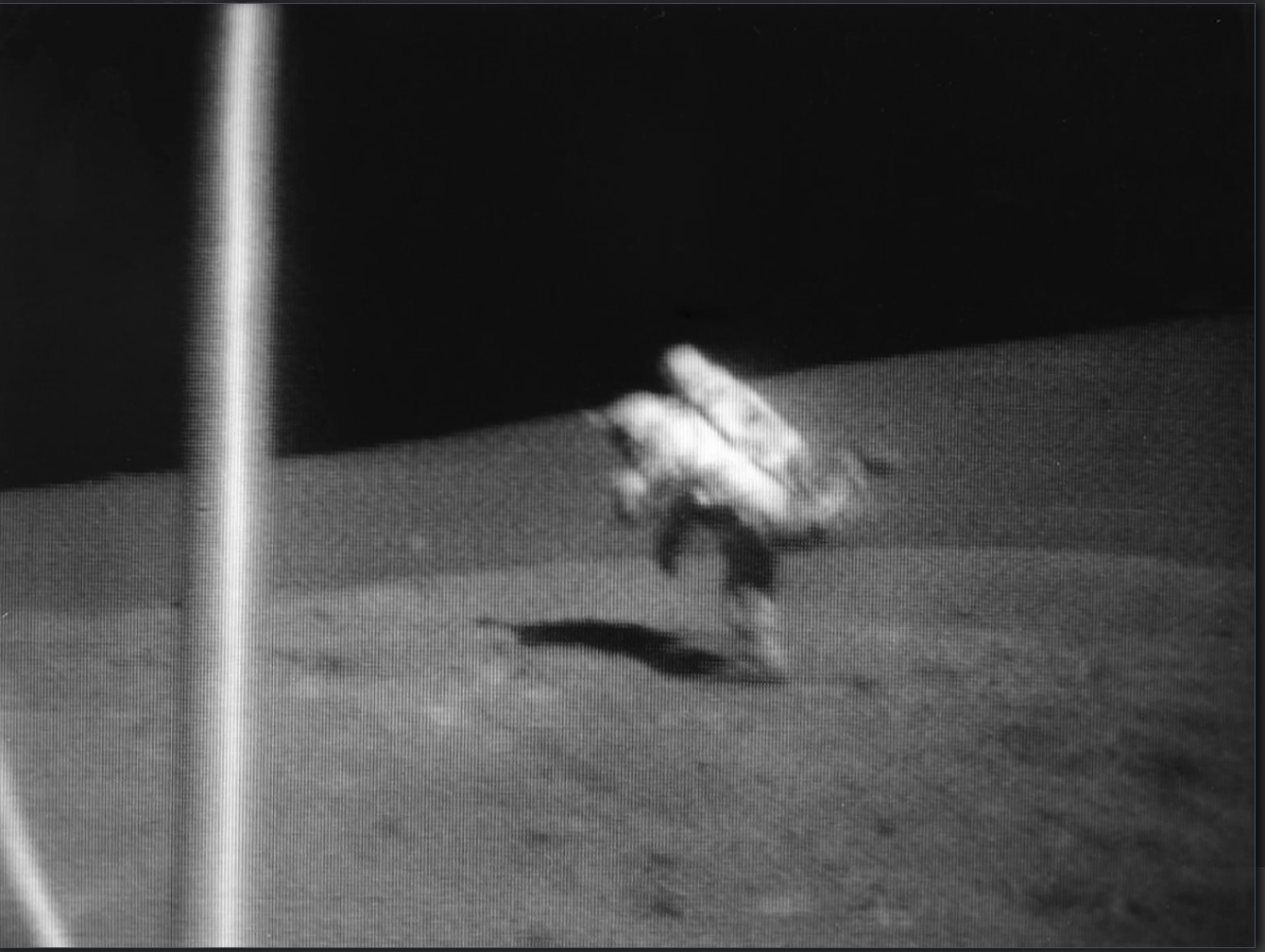 Partial gravity is potential health hazards for Astronauts in space. Here, Jack Schmitt, a NASA astronaut looses balance on the Moon. Image via NASA