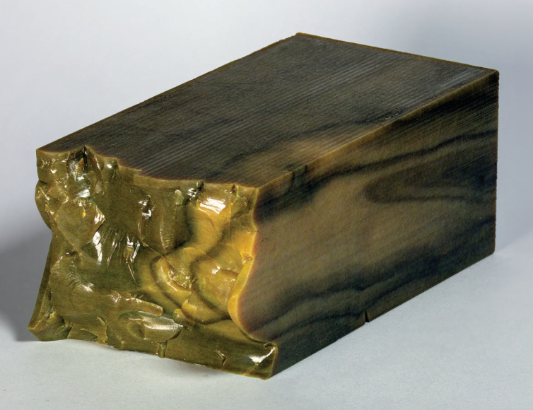An example of a replicated wood using the Stratasys J750. Image via Mary Ann Liebert, Inc., publishers