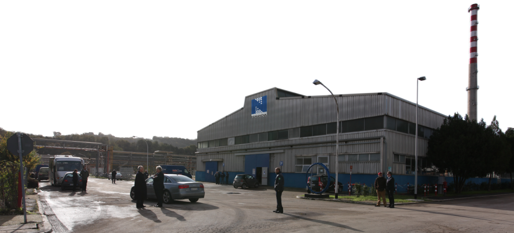 Render of the Numanova factory located in central Italy. Image via Italeaf