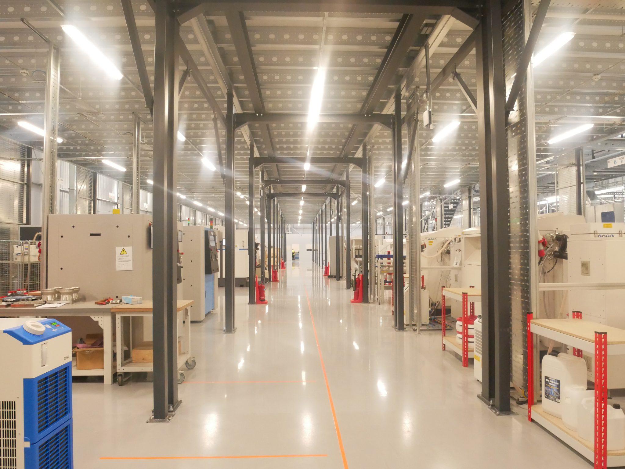 Inside the Materials Solutions Digital Factory. Photo by Tia Vialva.