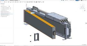 A 3D model of a Silverside neutron detector. Image via Silverside Detectors