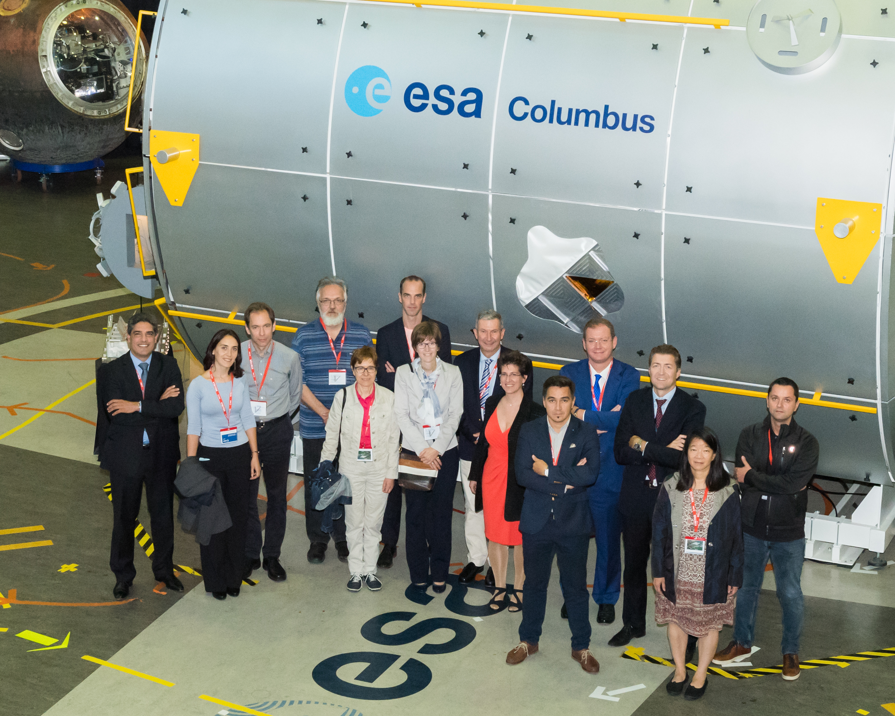 Participants at the ESA 3D bioprinting workshop. Image via ESA–G. Porter
