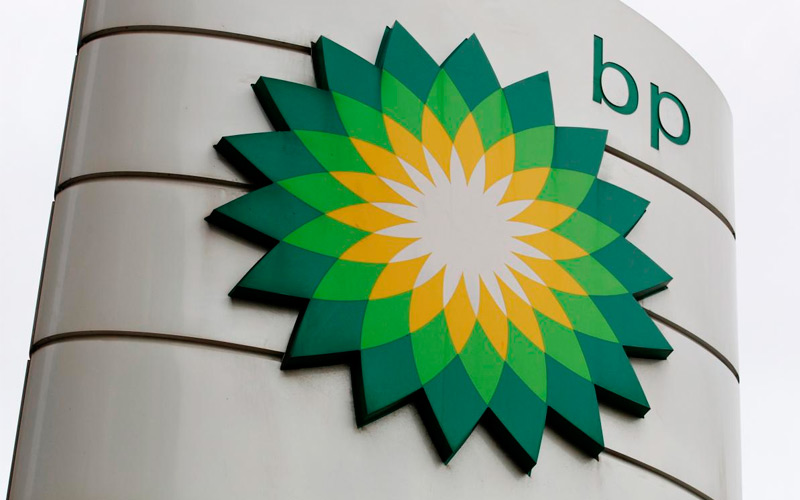 The BP emblem. Photo via BP.
