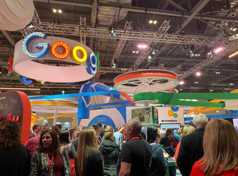 BETT 2019 education exhibition, London, UK. Photo via BETT.