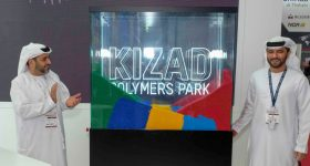 Grand opening of the Kizad Polymers Park. Photo via Abu Dhabi Ports