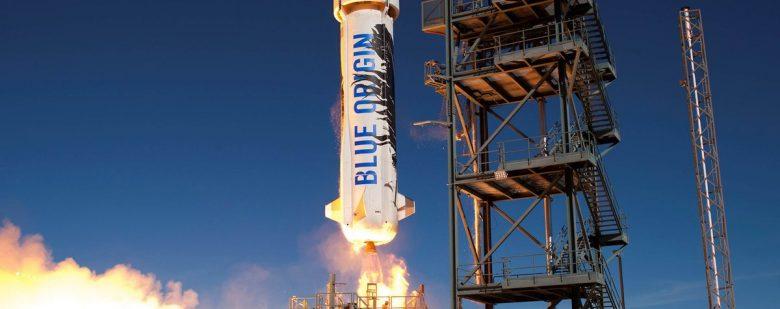 The New Shepard payload vehicle. Photo via Blue Origin