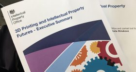 3D Printing and intellectual property futures executive summary.
