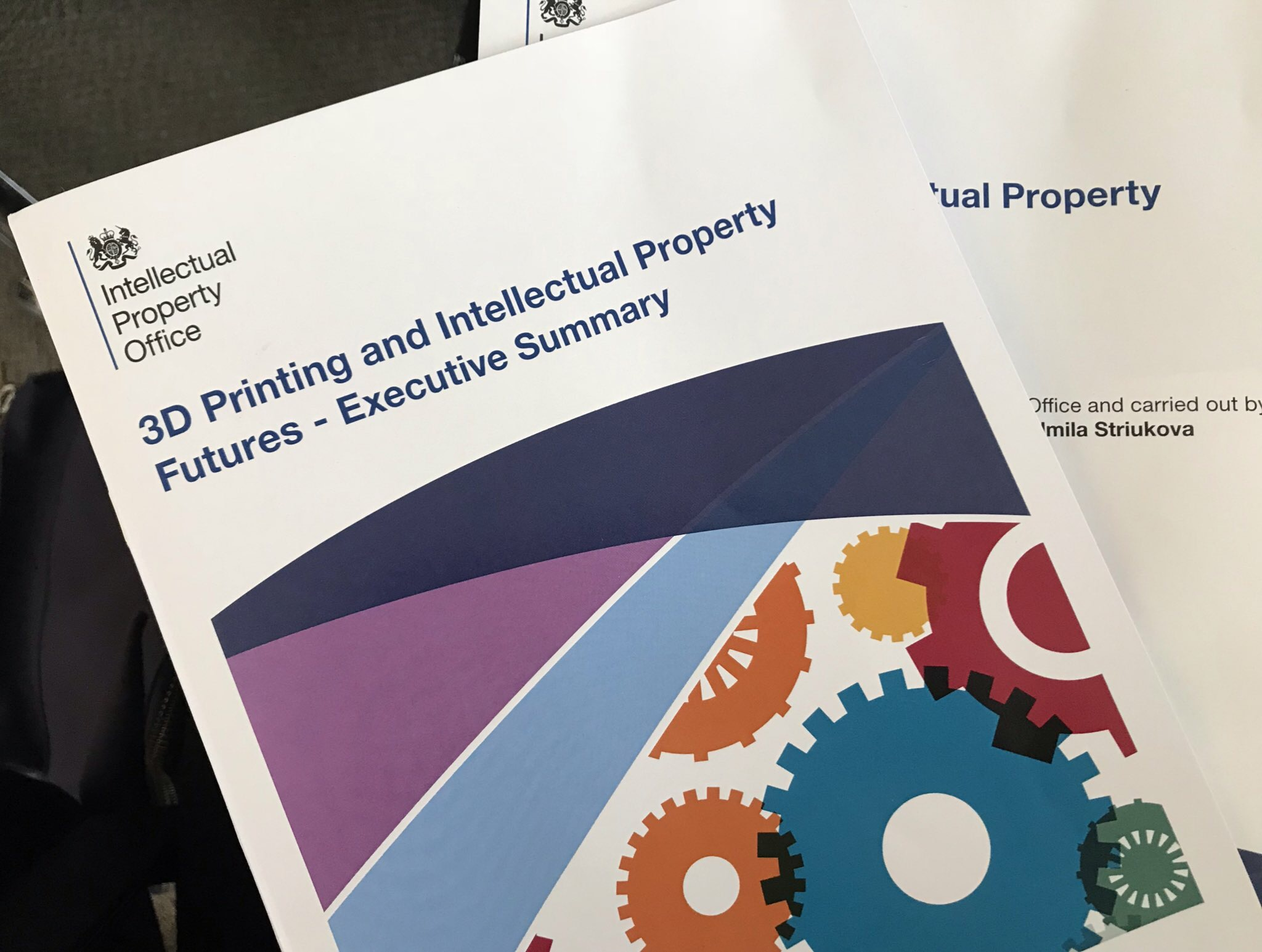 3D Printing certification and intellectual property futures executive summary.
