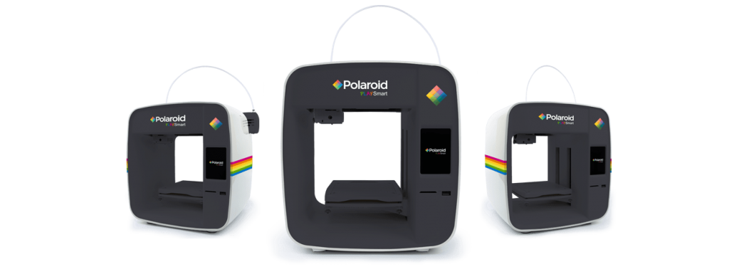 The PlaySmart 3D printer. Image via Polaroid