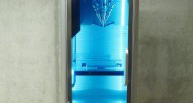 Front view of the μPrinter. Photo via Additec
