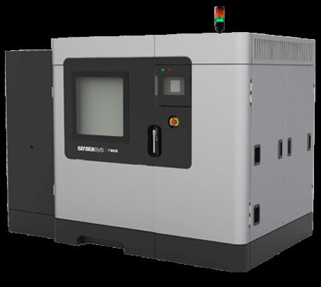 The Stratasys F900mc machine. Image via Stratasys
