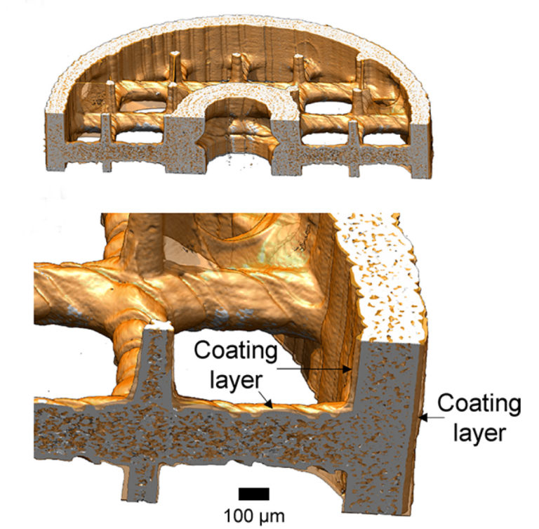 Design of the 3D printed and coated ChemoFilter. Image via UC Berkeley