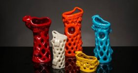 ActivArmor 3D printed casts. Photo via ActivArmor.