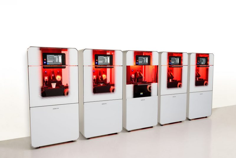130 3D printer production line, by Admatec Europe. Photo via Admatec.