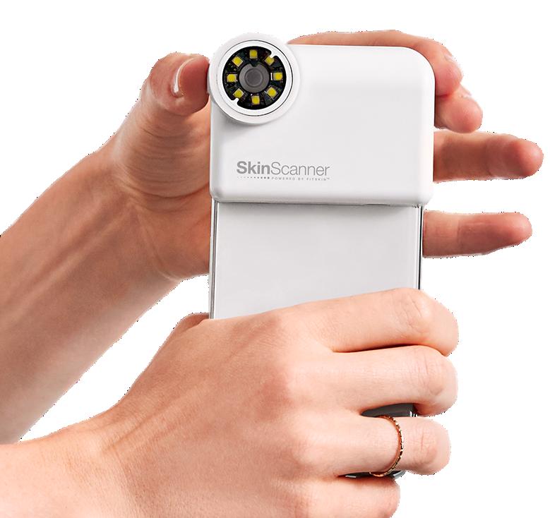 The Skin Scanner accessory. Photo via Johnson & Johnson.