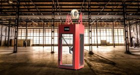 The T850P 3D printer. Image via Tractus3D.