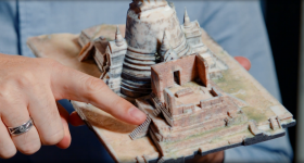 3D printed temple model created by Google and Stratasys. Image via Stratasys