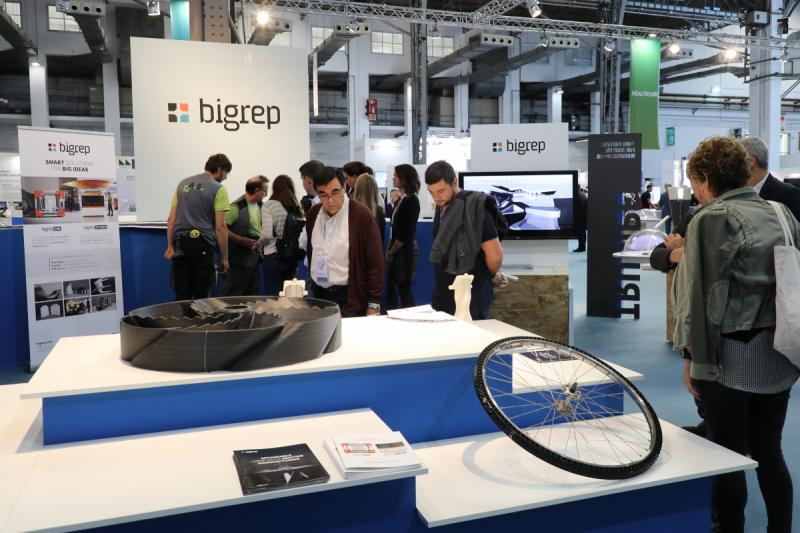 BigRep at the formerly titled IN(3D)USTRY fair in 2018. Photo via INDUSTRY.