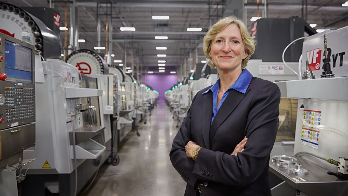 Vicki Holt, President and Chief Executive Officer of Protolabs. Photo by Thomas Strand, Forbes