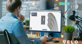 The Flow software in use on a desktop computer. Image via VELO3D.