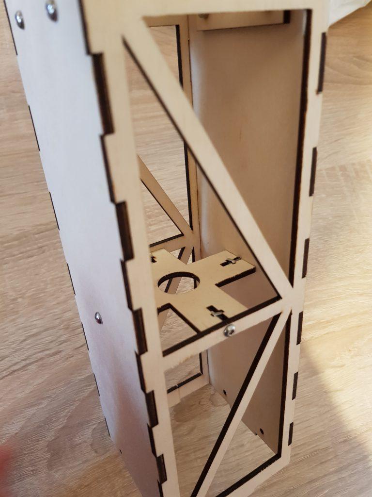Florian Kelsch's homemade crane. Photo via Florian Kelsch