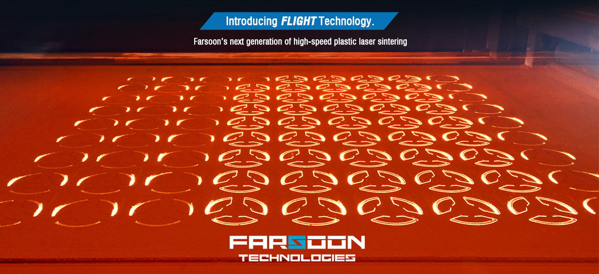 The Flight Technology. process. Photo via Farsoon Technologies.