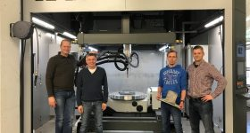 Aircraft Philipp Group installs an Arc605 3D printer at its facility in Übersee, Germany. Photo via GEFERTEC.