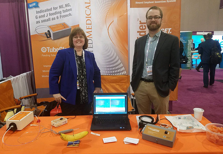 Actuated Medical at the MedTech Conference in Philadelphia. Photo via Actuated Medical.
