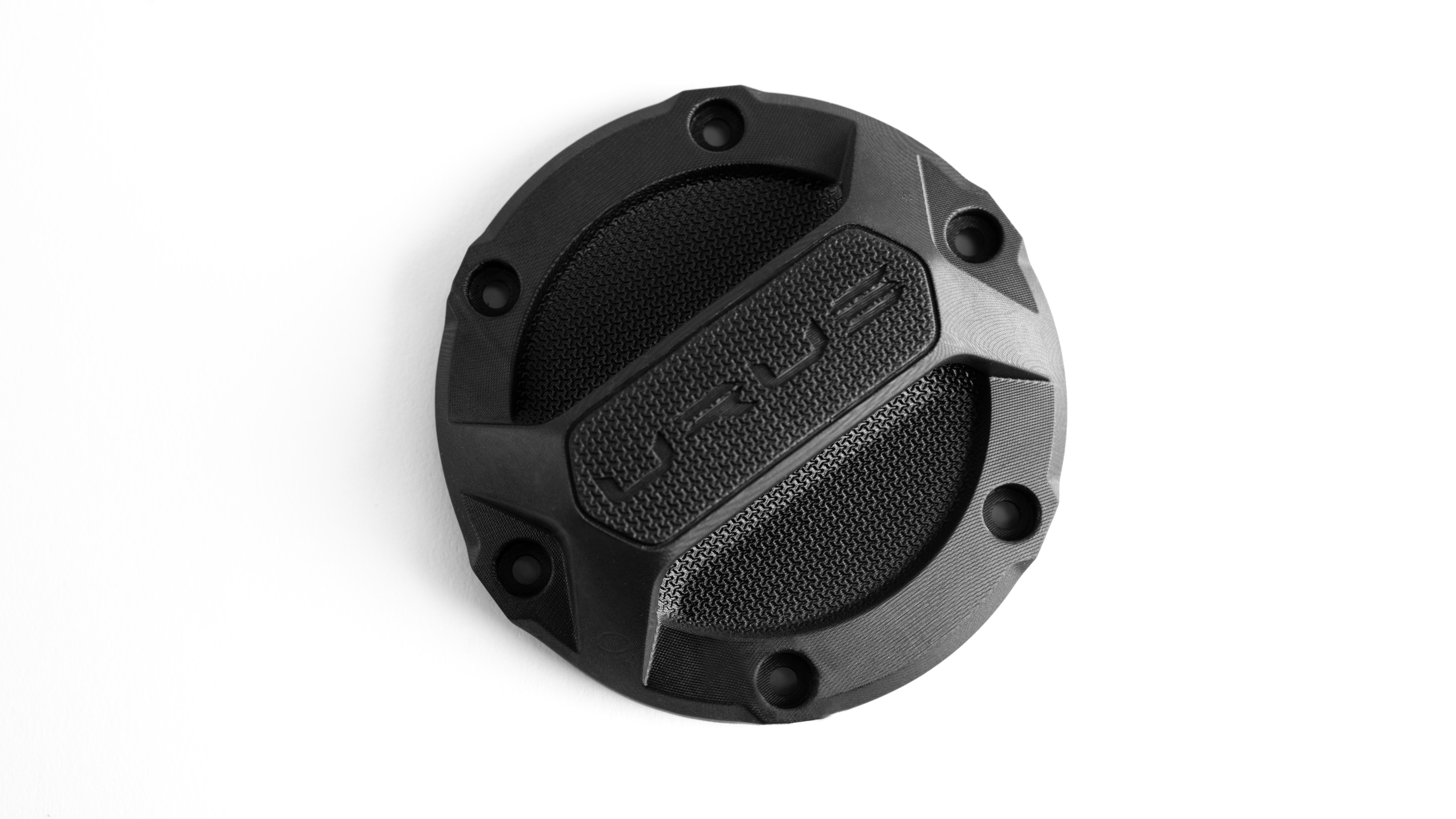 Lamborghini Urus Fuel Cover Cap digitally manufactured in EPX 82 epoxy resin