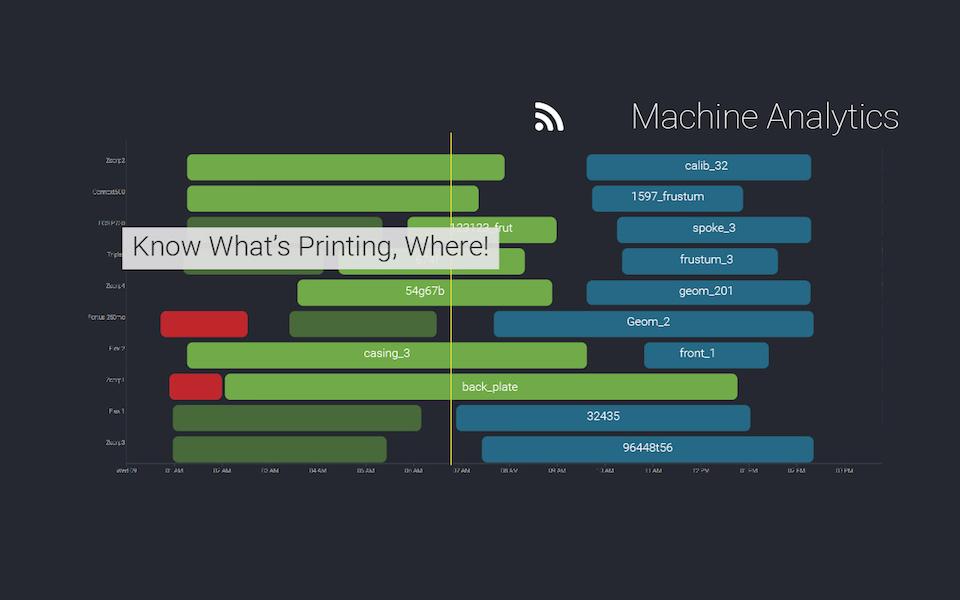 Authentise's 3Diax Machine Analytics3D tool. Image via Authentise.
