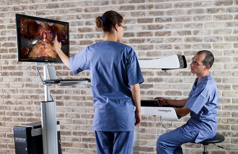 Medical Simulation technology from 3D Systems, Photo via 3D Systems.