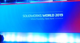 Inside SOLIDWORKS World 2019. Photo by Tia Vialva.