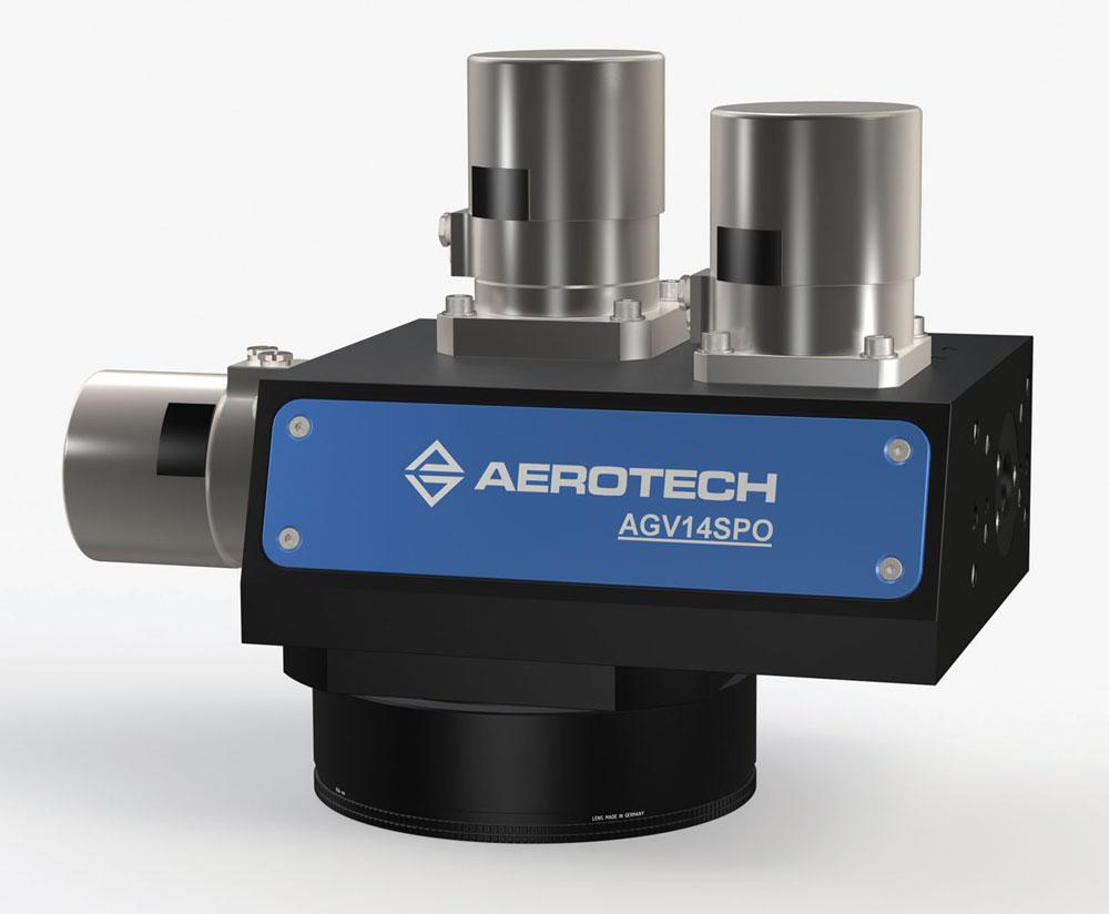 The Aerotech Galvo Scanner. Image via Aerotech.