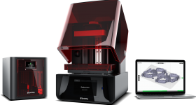 The SprintRay Pro Desktop Dental 3D Printer and Pro Cure Post Processing machine. Photo via SprintRay.