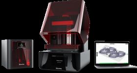 The SprintRay Pro Desktop Dental 3D Printer and Pro Cure Post Processing machine. Photo via SprintRay.