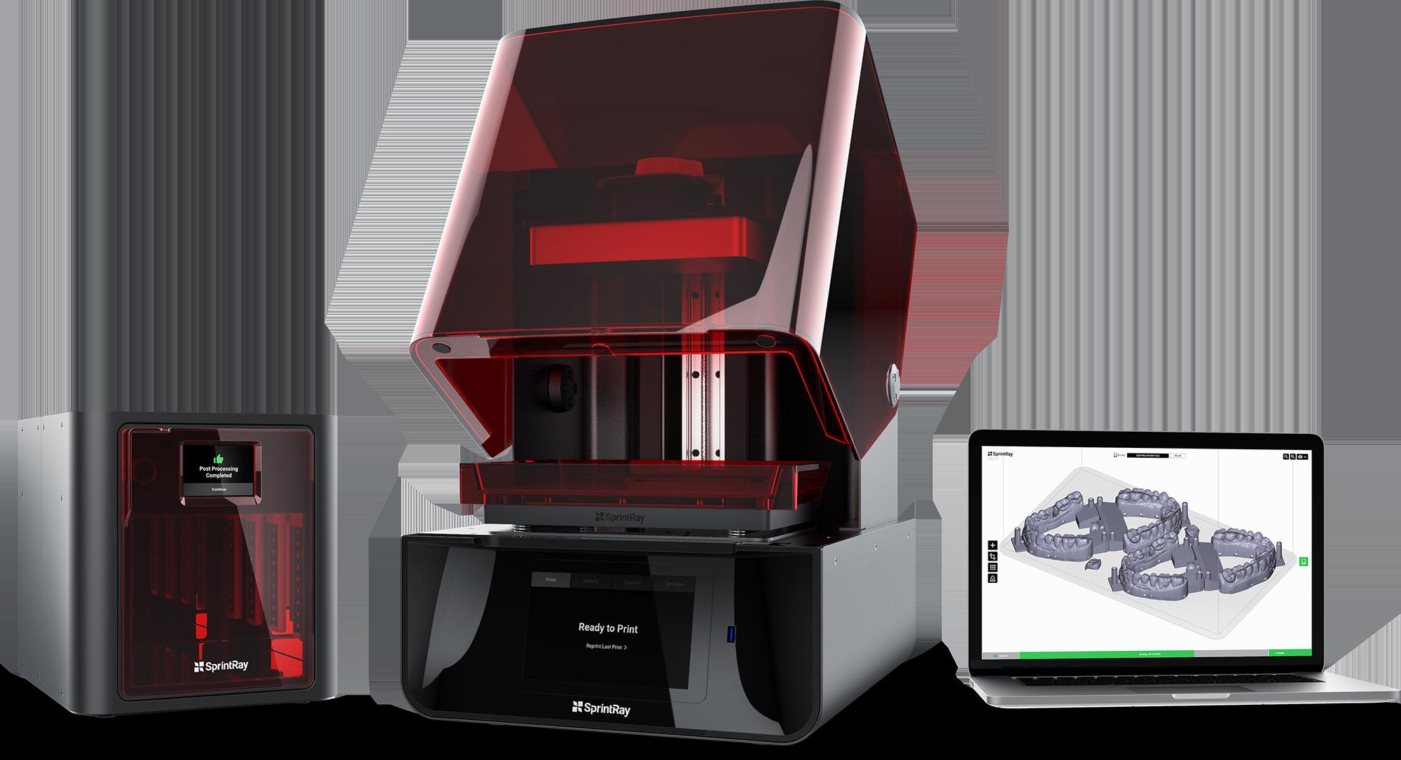 Sprintray Introduces Pro95 Desktop Dental 3d Printer