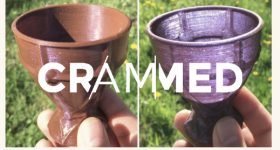 The 3D printed dichroic Lycurgus cup. Image via WUR.