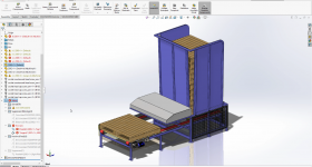 A CAD model in SolidWorks. Image via SolidWorks.