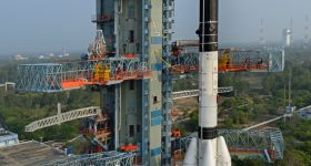 The GSLV. Photo via the ISRO.