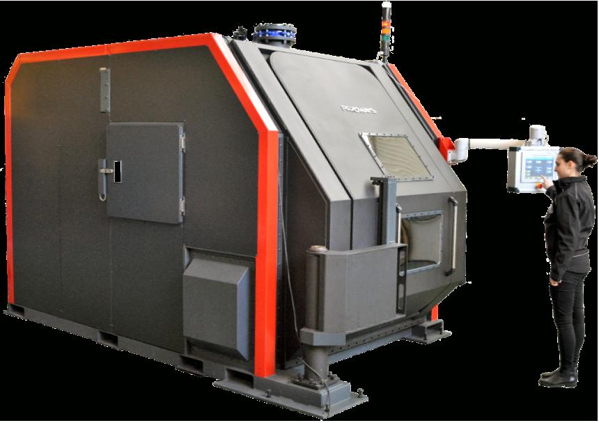 Prodways' ProMaker RAF metal 3D printer. Image via Prodways.