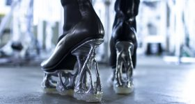 The Formless high heel shoes. Photo via Digital Artisan.