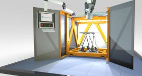 The SEAM 3D printer. Image via Fraunhofer IWU.