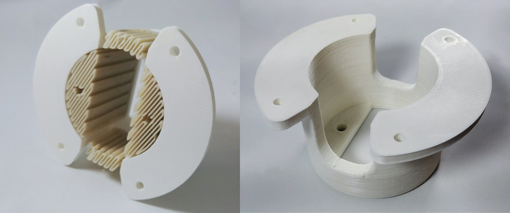 Ingeo 3D450 3D printed parts. Photo via NatureWorks.