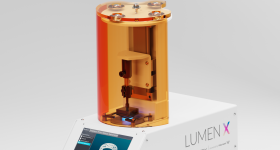 The Lumen X 3D bioprinter. Photo via CELLINK/Volumetric.