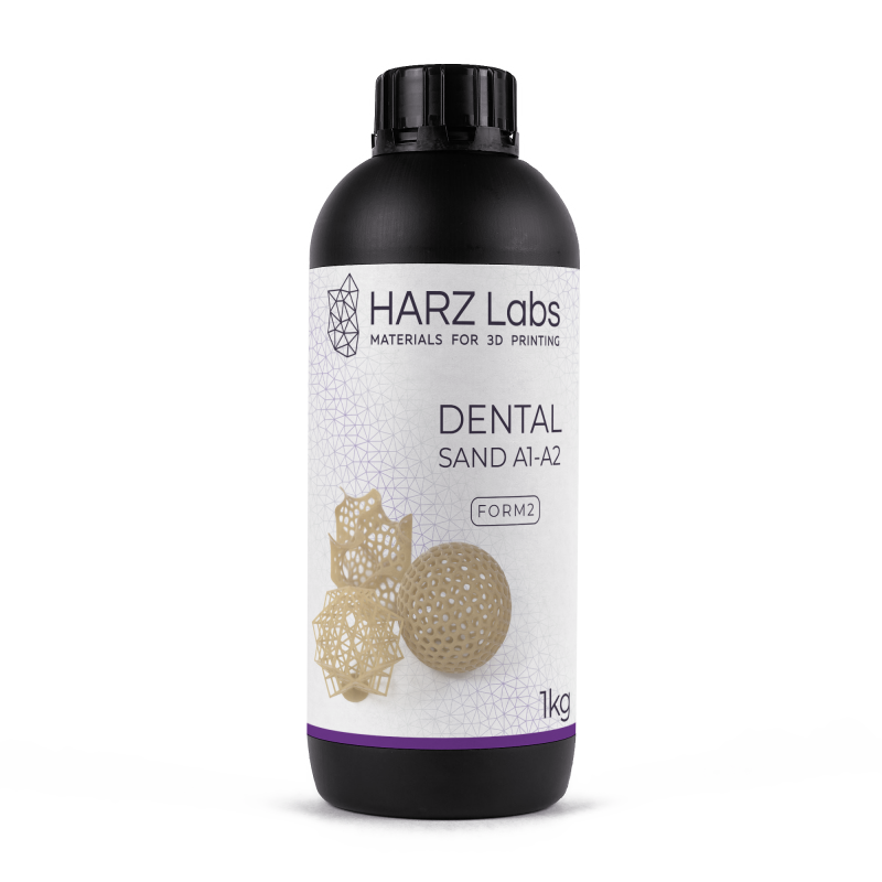 HARZ Labs Dental resin. Image via HARZ Labs.
