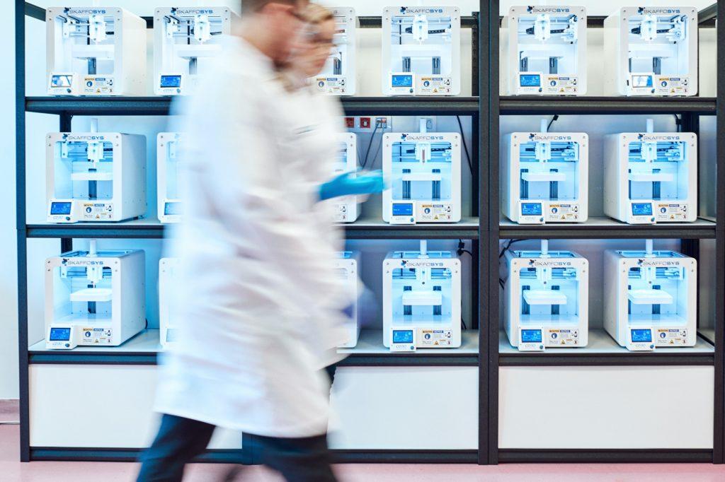 The CD3D Medical Open 3D Bioprinting Cluster. Photo via cd3dmedical.com