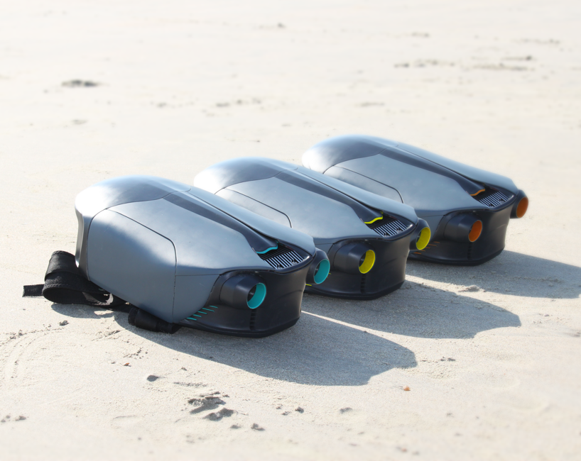 Winner of the 2018 3D Hubs grant, CUDA, a 3D printed jet pack. Image via 3D Hubs.
