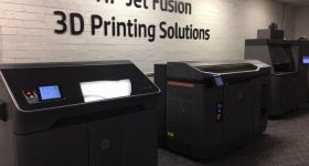 HP Jet Fusion 3D printer at TPM, Charlotte, North Carolina. Photo via TPM Inc.