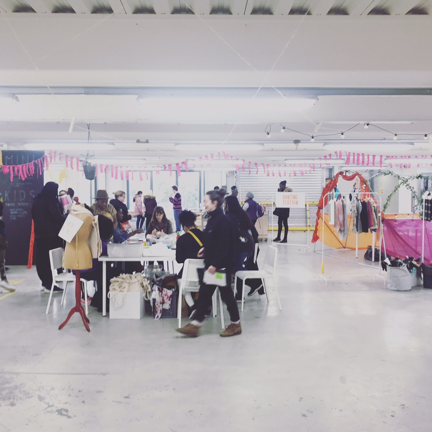 The Every One Every Day warehouse, a shared maker space for the local community. Image via Every One Every Day.