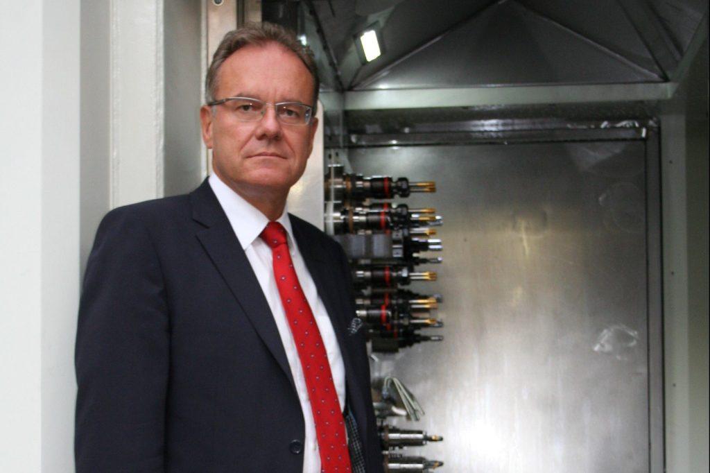 Dr. Roland Feichtl, President of CECIMO. Photo via CECIMO